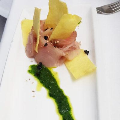 Sashimi di pesce spada