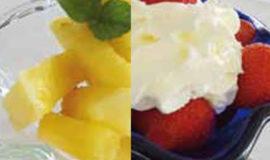 Pineapple or Strawberries
