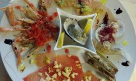 seafood crudités