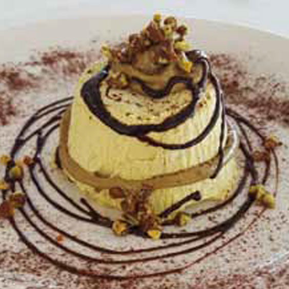 Pistachio Semifreddo Ice-Cream