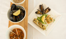 warm seafood starter