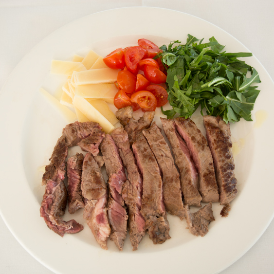 thin-sliced beef